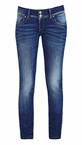 LTB Jeans LTB Damen Jeans Molly Heal Wash Super Slim Skinny 5065-50356, Größe:W24 L30, Farbe:Molly Heal (5065-50356)
