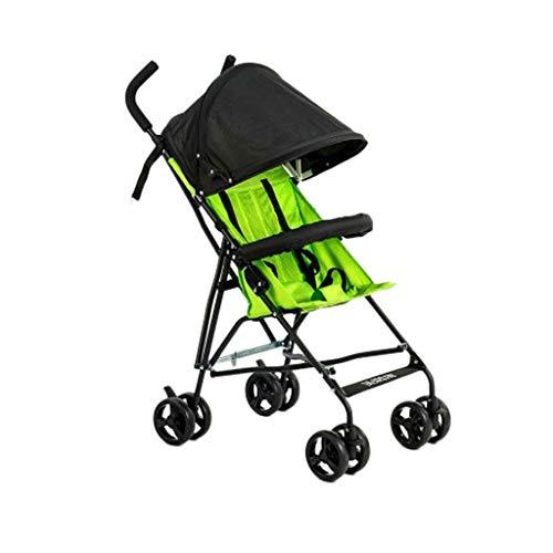 Tragbare Anti-Buckel-Kinderwagen leichte Regenschirm Kinderwagen Buggys Baby Reise faltende Kinderwagen Kinderwagen einfache atmungsaktive Baby Trolley