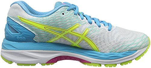 Sport Chaussures White Yellow 18 Nimbus Femme de S Multicolore Asics Aquarium W Safety Gel wvgqnx1XU0