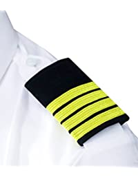 Captainsnote Unisex Blazer (Cptblrdia001_Black With Golden Braided Diamond_Free Size)