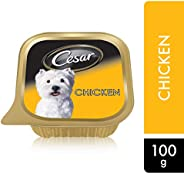 Cesar Chicken, Wet Dog Food, 100g x 6