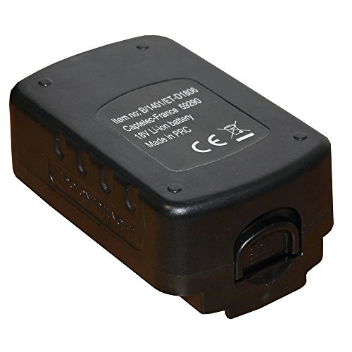 Rasenmäher Power Rake (FISHTEC ® Akku lithi-um für Motorhacke kabellos 18 V East® Power Tools)