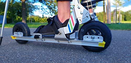 FLEET skates FS100-620 - Nordic Cross-Skates für Gelände und Off-Road geeignet - Inline Skate Alternative für Erwachsene