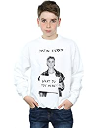 Justin Bieber Boys What Do You Mean Sweatshirt