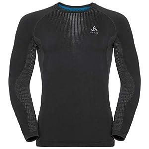Odlo Herren Suw Crew Neck L/S Performance Warm Shirt