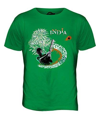 CandyMix Indien Cricket Herren T Shirt Grün