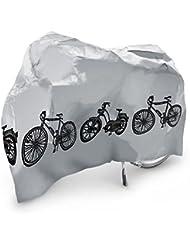 NFP - Lona de cobertura para bicicleta o motocicleta, 185 x 100