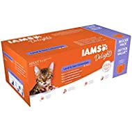 IAMS Delights Cat Food Land and Sea Collection In Jelly, 48 x 85 g