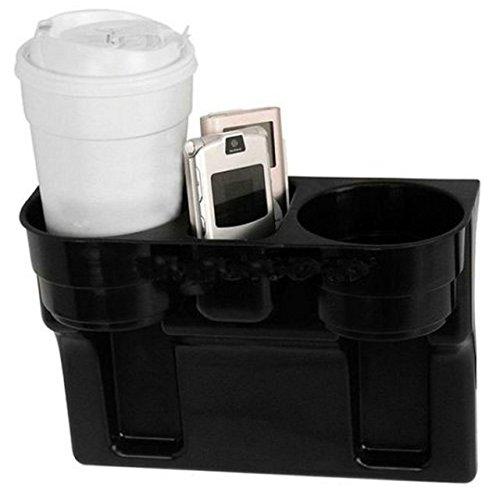 UNIVERSALL KFZ Getränkehalter - Becherhalter - Ablagefach - Stauraum - Cup Holder - Aufbewahrungsbox - Ablagefach Stauraum - Dosenhalter - Kaffeehalter - Flaschenhalter - INION