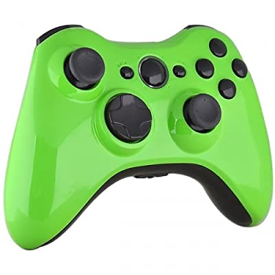 Xbox 360 Wireless Controller - Lime Green with Black Buttons