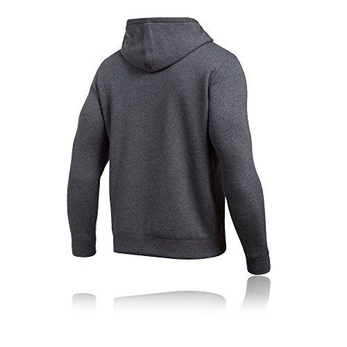Under Armour Rival Fitted Full Zip, Felpa Uomo Grey