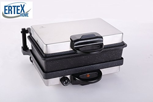 Elektrogrill Multigrill Kontaktgrill Grill Toaster Lahmacun Marmor inkl. Kasserolle