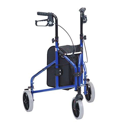 Drive Medical Triwalker - Andador tres ruedas aluminio