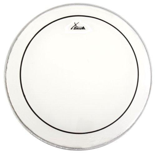 """XDrum 16\"""" Oil Hydraulic Schlagzeugfell (16 Zoll, Drumhead, Ölfell, saubere Klangverteilung und Klangtiefe, kurzes Sustain bei trockenem Sound)"""