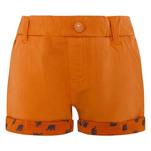 Tuc Tuc Bermuda Felpa NIÑO Animal Crew Bañador, Naranja Naranja 10, 6 años Tamaño del Fabricante:6A...