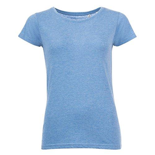 SOLS - T-shirt à manches courtes - Femme Bleu marine chiné