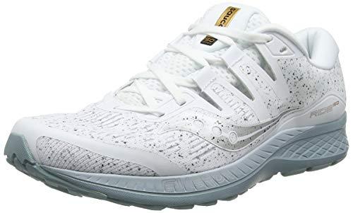 Saucony Ride ISO, Zapatillas de Running para Hombre, Blanco White 40, 45 EU