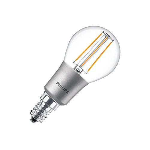 Bombilla LED E14 P45 Regulable Filamento Luster CLA 4.5W Blanco Cálido 2700K efectoLED