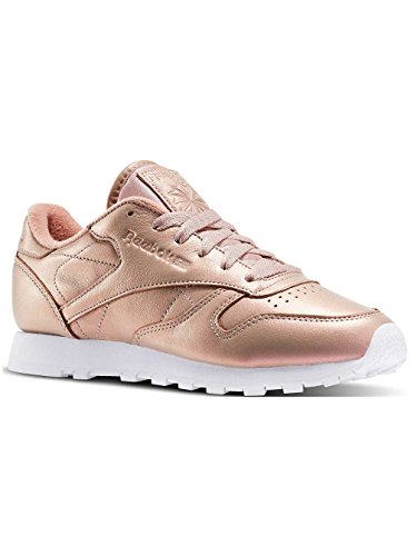 Reebok Classic Leather Pearlized Donna Sneaker Rosa rose gold-white