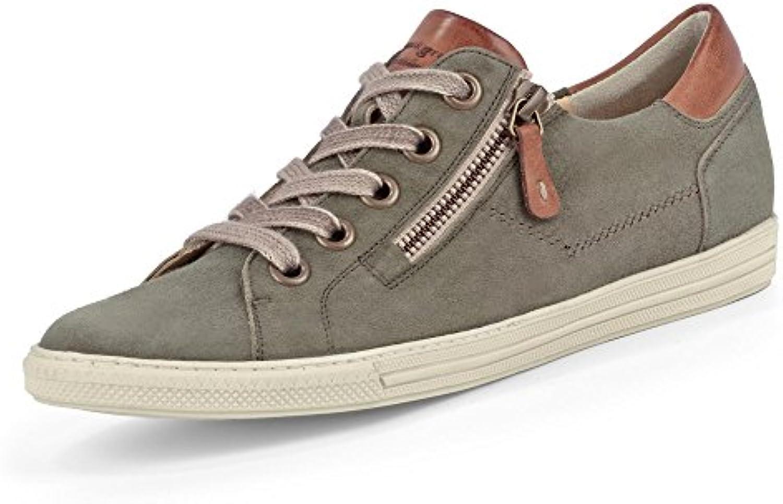 Paul Green 4218-472 Damen Sneaker aus Nubukleder Lederfutter und -Innensohle