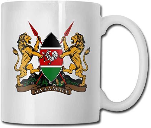 Wappen von Kenia Keramik Kaffee Tee Bier Cug Mug -