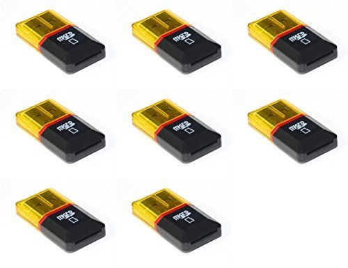 HobbyFlip 8 X Quantity Of Hubsan X4 H107 C Micro Sd Card Reader Up To 32 Gb Fast Free Shipping From Orlando, Florida Usa!