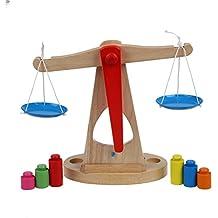 SODIAL(R) Los ninos de juguetes Juguetes de madera