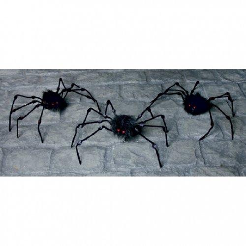Long Legged ragno per Halloween - Hairy Spider Decoration
