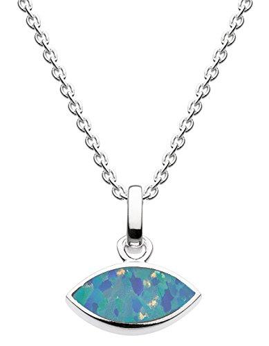 Dew - 925 Sterling-Silber Silber Marquiseschliff blau Opale Preisvergleich
