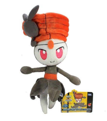 Takaratomy Pokemon Best Wishes Plush Doll N-37-Meloetta/Pirouette Forme (japan import)