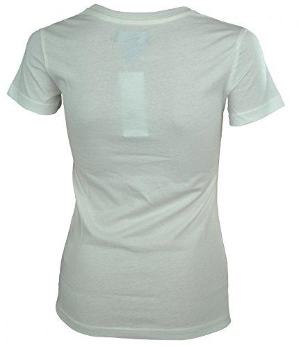 Adidas Damen T-Shirt Glossy Tee V33706 Weiß