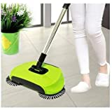 #4: Crownish Multipurpose 360 Degree Rotating Brush Spin Hand Push Broom Sweeper Dust Collector Floor Surface Cleaning Mop for Home Office