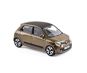 Norev-517415-Renault Twingo-2014-Escala 1/43-marrón