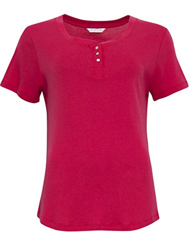 Cyberjammies 3285 Women's Heidi Red Knit Cotton and Modal Pajama Sleepwear PJs Pyjama Top - 41Cwm9LfNCL - Cyberjammies 3285 Women's Heidi Red Knit Cotton and Modal Pajama Sleepwear PJs Pyjama Top