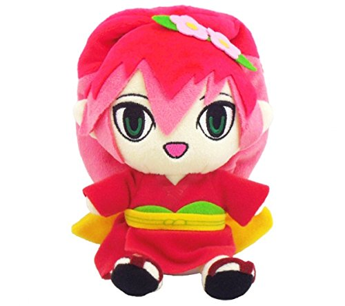 yokai-watch-tsubakicamellia-princess-stuffed-toy-plush-doll-japan-yorozumart-limited