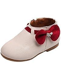 Kukul Zapatos para niñas1-3 años Nuevo Zapatillas con Bowknot