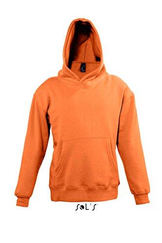 Preisvergleich Produktbild Sols - Slam Kids - Kinder Kapuzen-Sweatshirt ,  Orange ,  06A