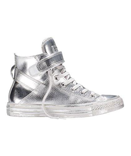 Chuck Taylor All Star Brea Metallic Silver