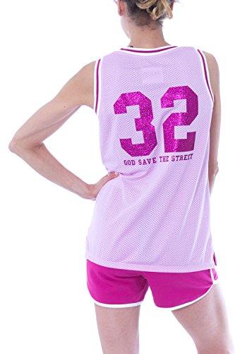PYREX - Damen armellos tank top 33397 Pink