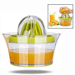 LHKJ Manuelle Zitruspresse Zitronenpresse,Manuelle Saftpresse Orangen...