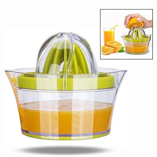 LHKJ 4 en 1 Exprimidor de Limón Multifunción Exprimidor Zumo Manual para Naranja Limón Cítricos...