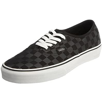 Vans Unisex Authentic Trainer (Checkerboard) black/black VEE3276 11 UK