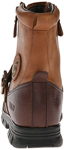 Cheville Bottes de Polo Ralph Lauren Andres III Hommes cuir Briarwood/Tan