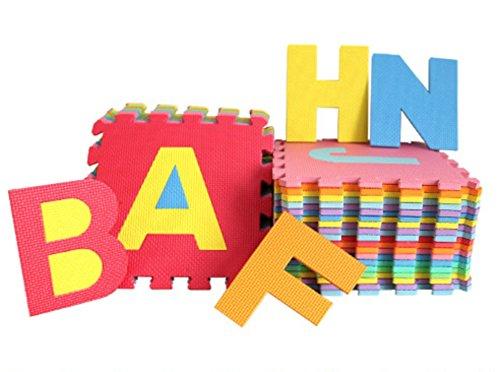 Preisvergleich Produktbild Style home 36 Puzzlequadrate Bodenmatte Puzzlematte Spielteppich Kinderteppich Spielmatte Lernteppich 86 tlg. SH-KPM-31311 nach neuer RICHTLINIE (EU) 2015/2115 und EN 71