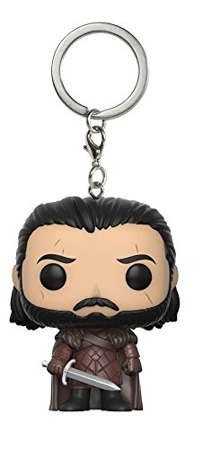 Funko - Pocket Pop Keychain: Game of Thrones: S7 Jon Snow, 14690-Pdq
