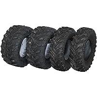 TL Quad Buggy ATV - Juego de neumáticos (2 x 25 x 10 – 12