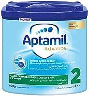 Aptamil Advance 2 Next Generation Follow On Formula From 6-12 Months, 400G