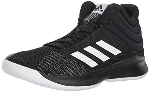 adidas Hombres High Tops Schnuersenkel Basketball Schuhe Schwarz Groesse 14 US /48 EU (Adidas Größe Basketball-schuhe 14)