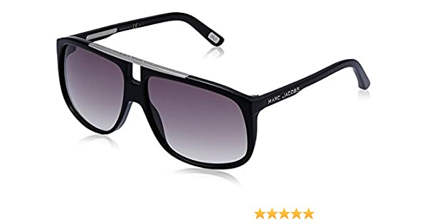 958fc18d486d Marc Jacobs Aviator Sunglasses (Black) (MJ-252 S-807LF)  Amazon.in   Clothing   Accessories