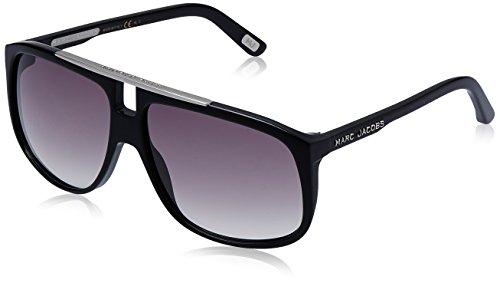 Marc Jacobs Unisex-Erwachsene MJ 252/S LF 807 60 Sonnenbrille, Black/Grey Sf